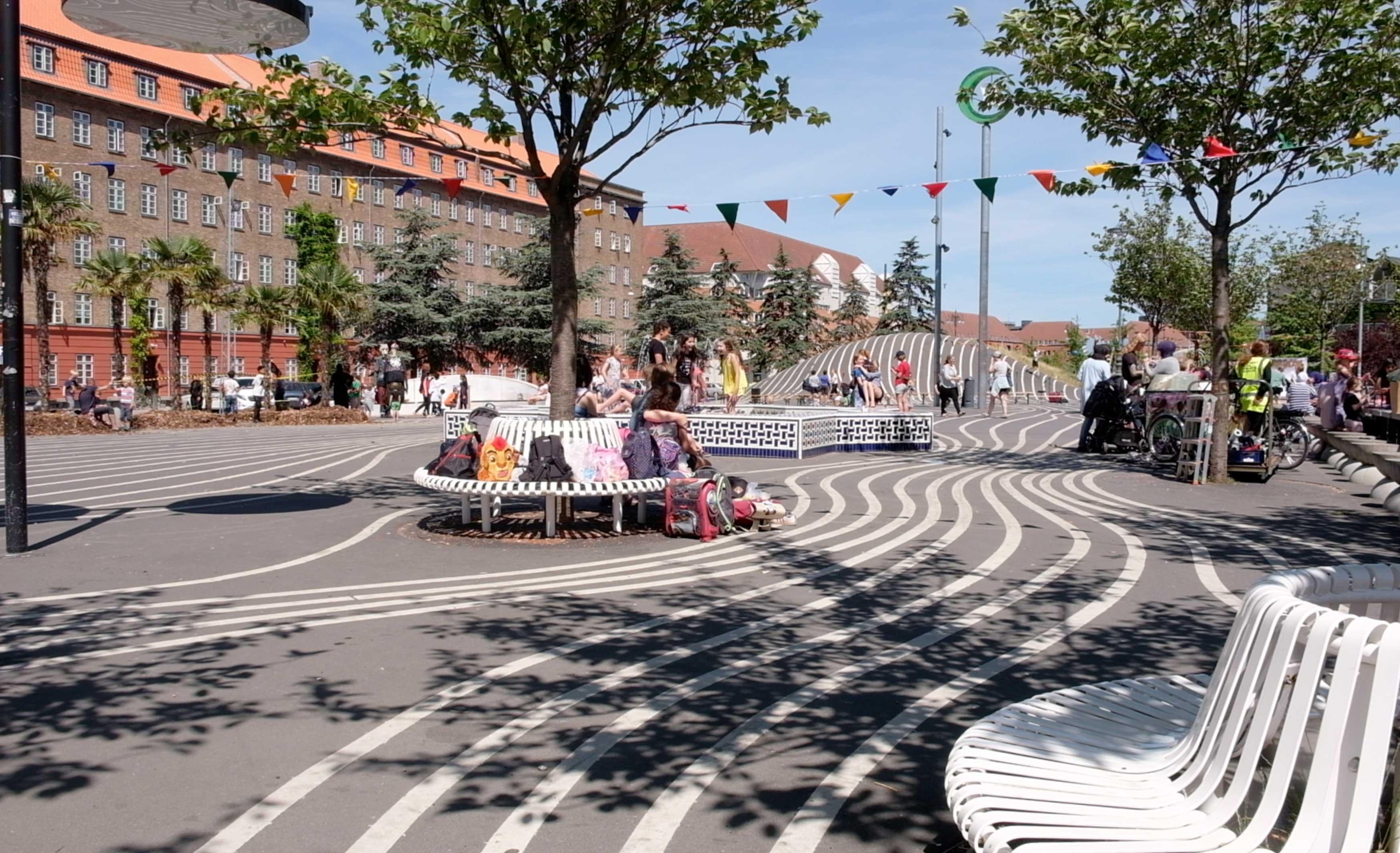 Urbancamper Exploring Copenhagen Superkilen
