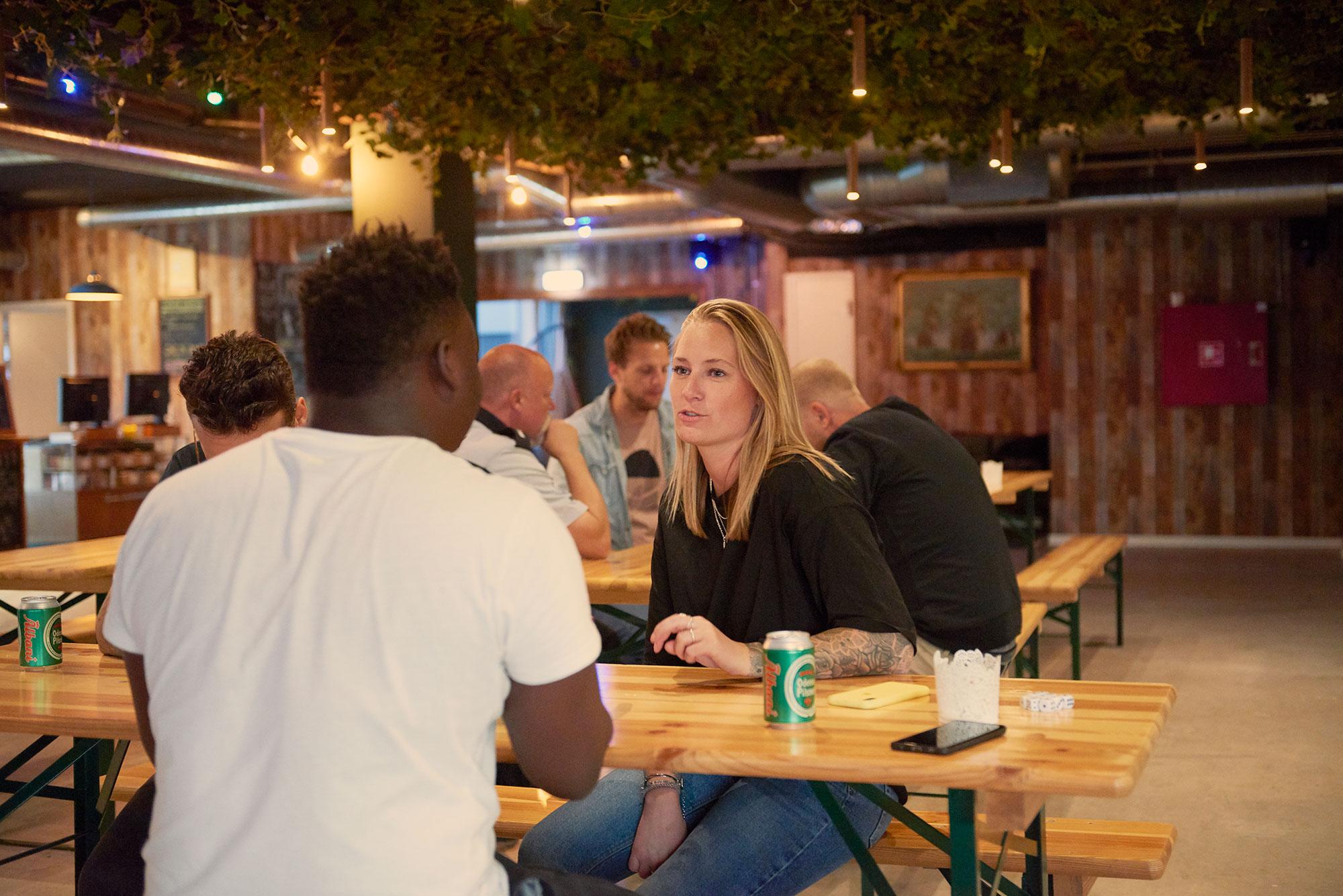 enjoy good times at Urbancamper - eat, drink, relax, play, socialise